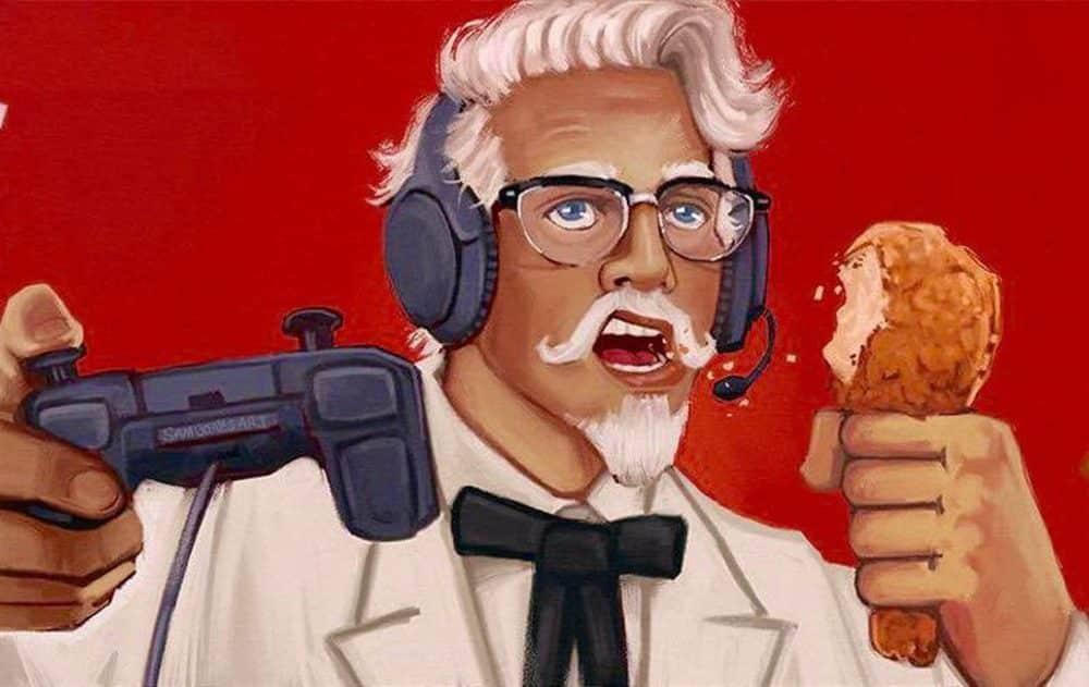 KFC Yeni Oyuncu Konsolu