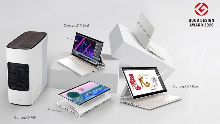 Acer'a tasarım ödülü