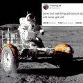 Ay'da yürümenin komik yüzü