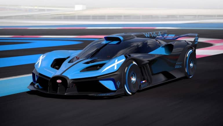 Bugatti'nin yeni canavarı Bolide