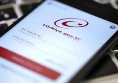 e-Devletten yeni hizmet