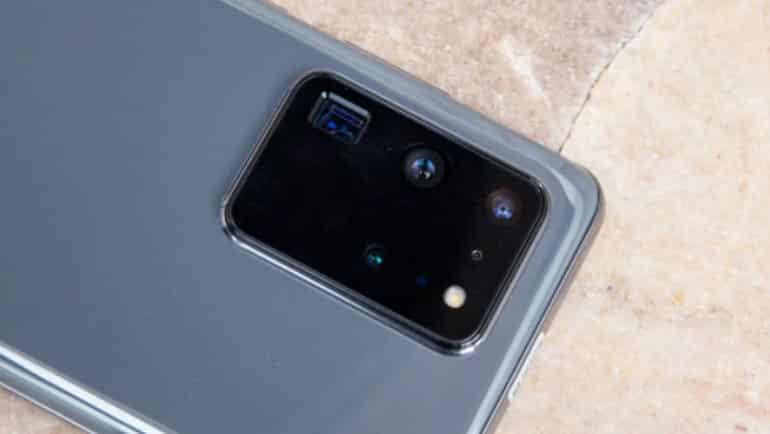 Galaxy S21 Ultra'da gizemli sensör