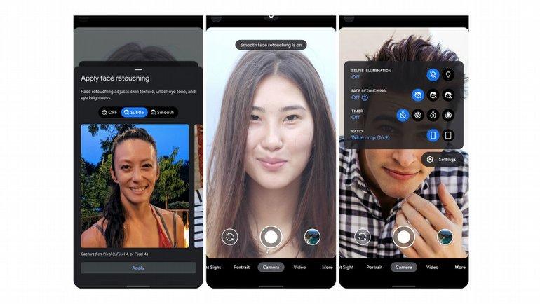 Google'dan efektli selfie'lere son