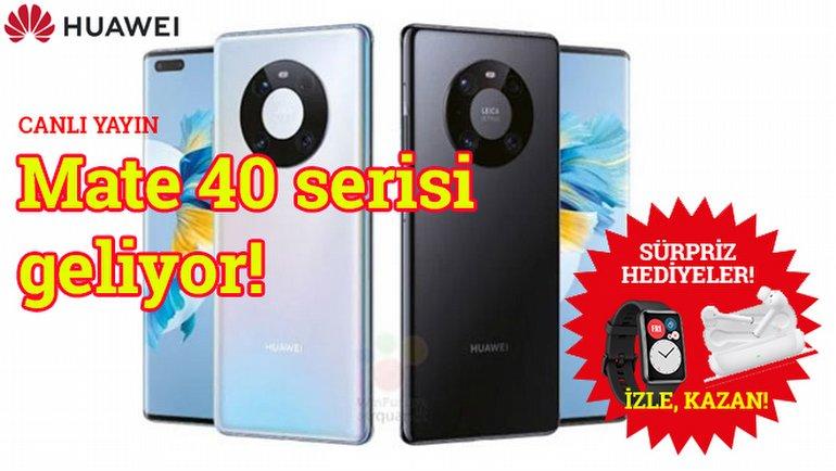Huawei Mate 40 Serisi tanıtılıyor!