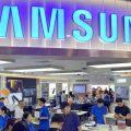 Samsung için, bir ilk gerçek oldu