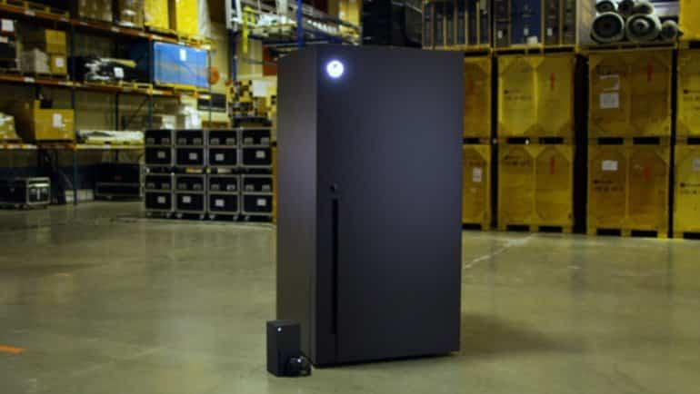 Xbox Seriex X buzdolabı oldu