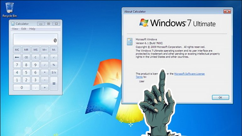 XP'den sonra, Windows 7 de ölmüyor