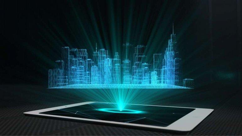 Hologram ekranları için dev adım