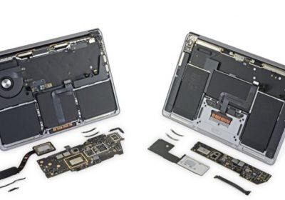 M1 işlemcili MacBook'lar paramparça