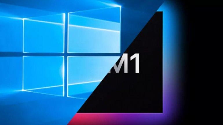 M1'l Mac'te Windows çalışacak mı?