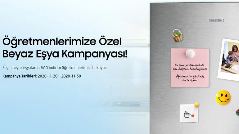 Samsung'dan öğretmenlere kampanya