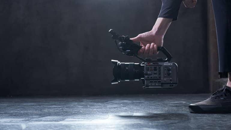 Sony'den FX6 Full-frame Pro kamera