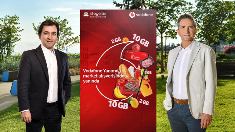 Vodafone'dan SüperMarket hamlesi!