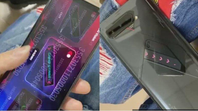 ROG Phone 5, yeni sızıntıda göründü