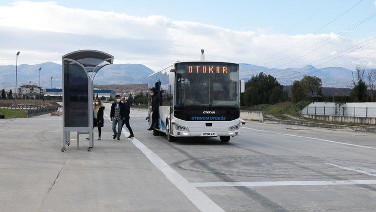 Sürücüsüz otobüs geliyor