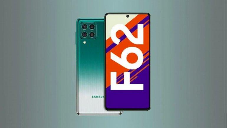 Galaxy F62 tanıtıldı