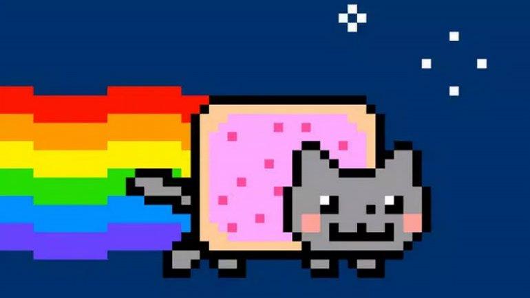 """""""Nyan Cat"""" yine rekor kırdı"""