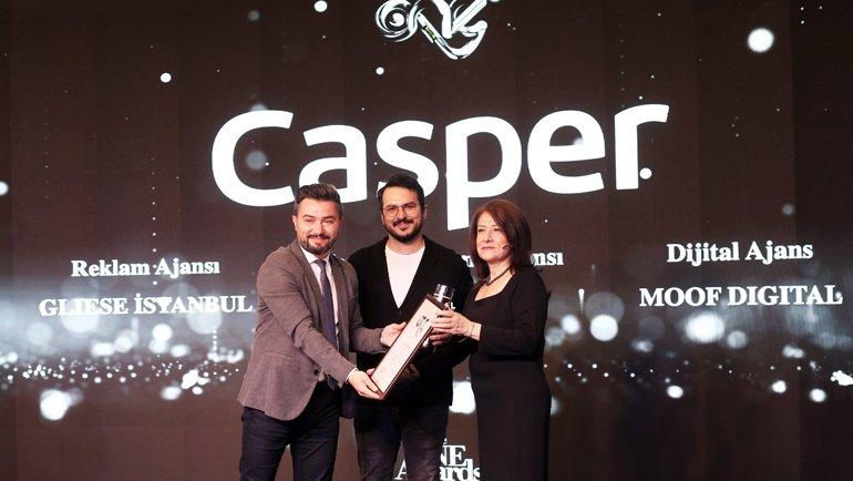 Casper'a büyük ödül