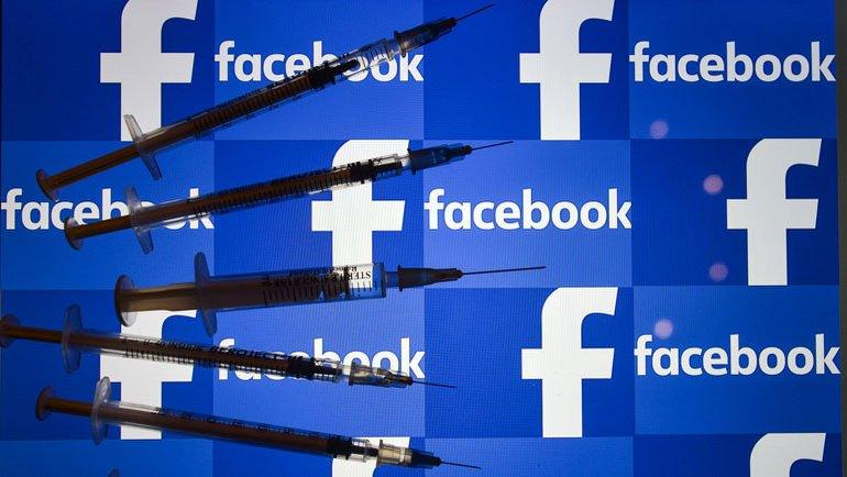 """Facebook'tan """"aşı-kararsız"""" raporu"""