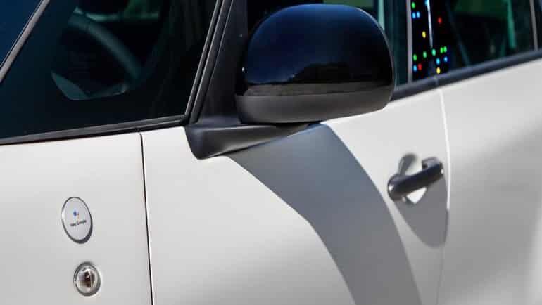 """Fiat 500'ün içine Google """"kaçtı"""""""