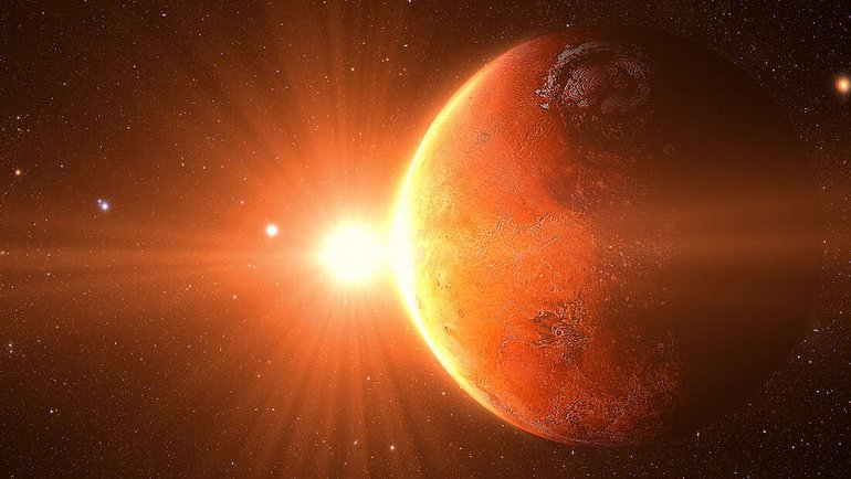 Mars'ta oksijenüretildi