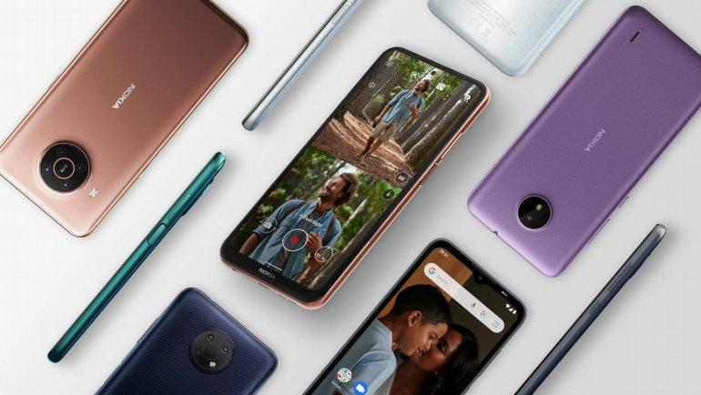 Nokia'dan 6 yeni telefon birden