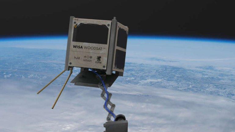 """""""Uzayda ahşap uydu deneyi"""" başlıyor"""