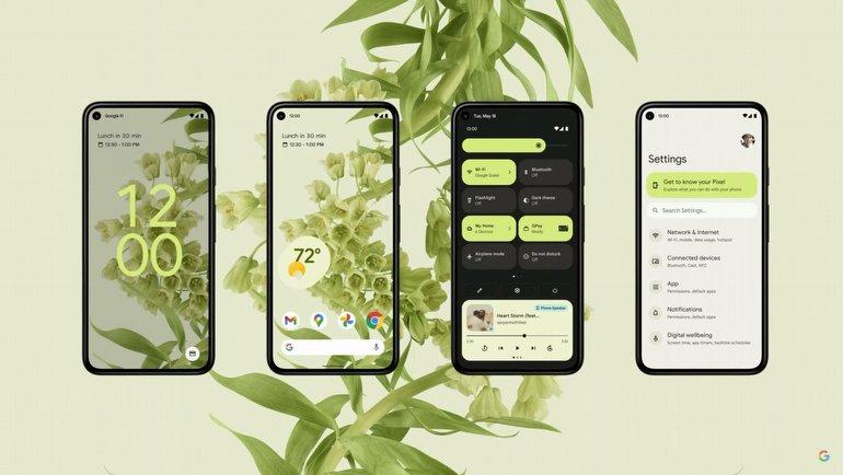 Android 12'nin detayları açıklandı