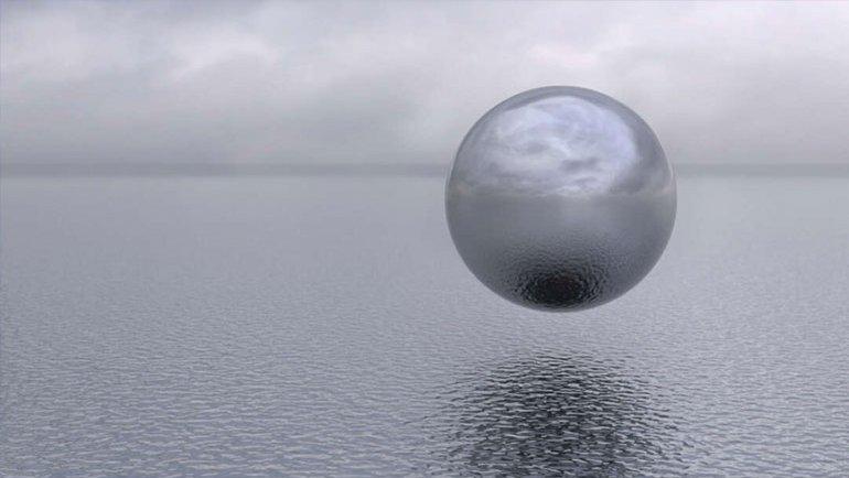"""Bu sefer de """"küresel UFO"""" gördüler"""