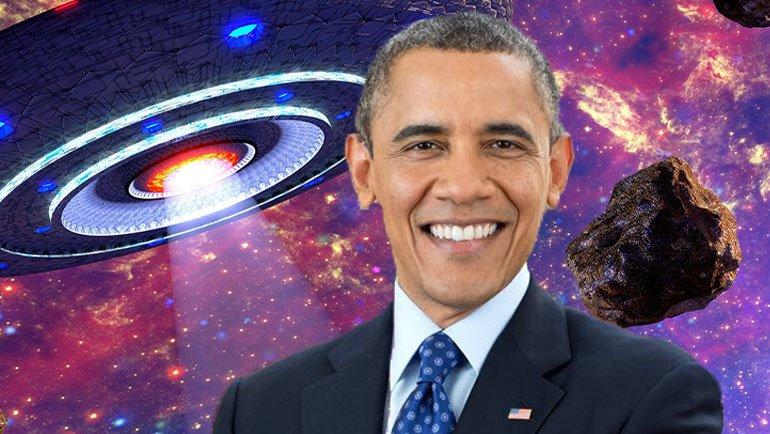 Obama'dan şaşırtıcı UFO açıklaması
