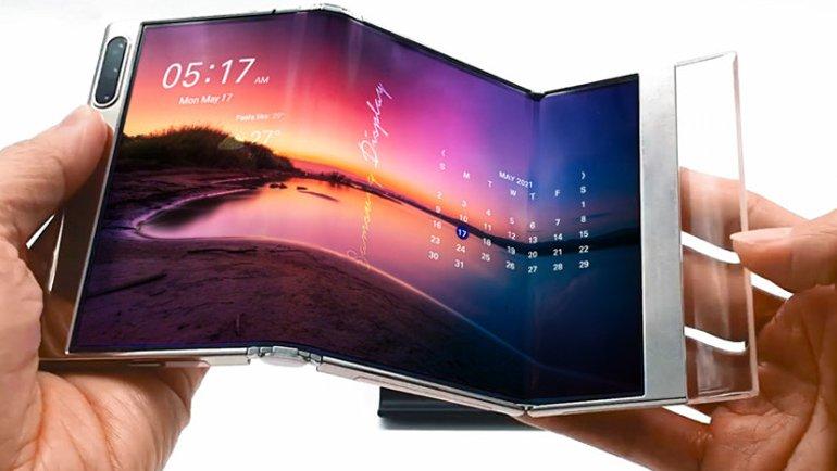 Samsung ceplere yeni ekranlar