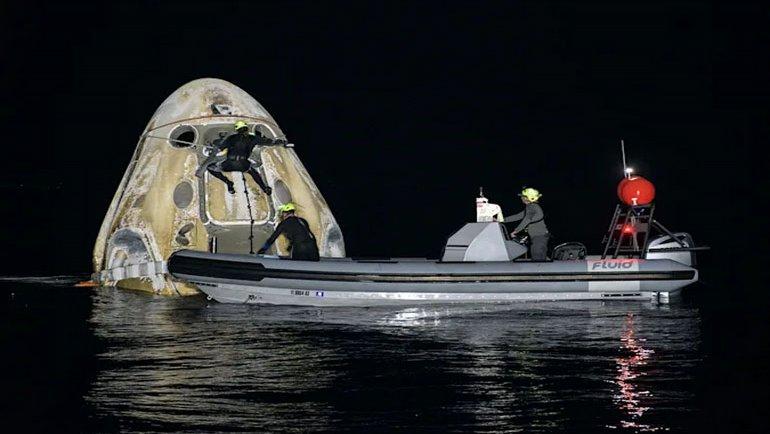 SpaceX'ten uzayda yeni rekor