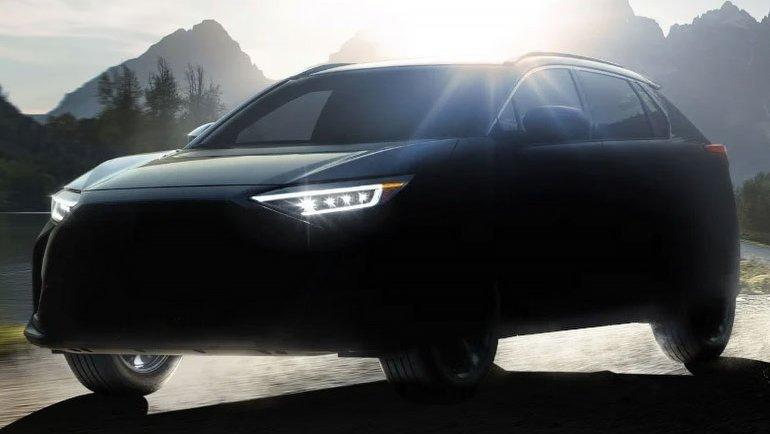 Subaru'nun ilk elektriklisi göründü
