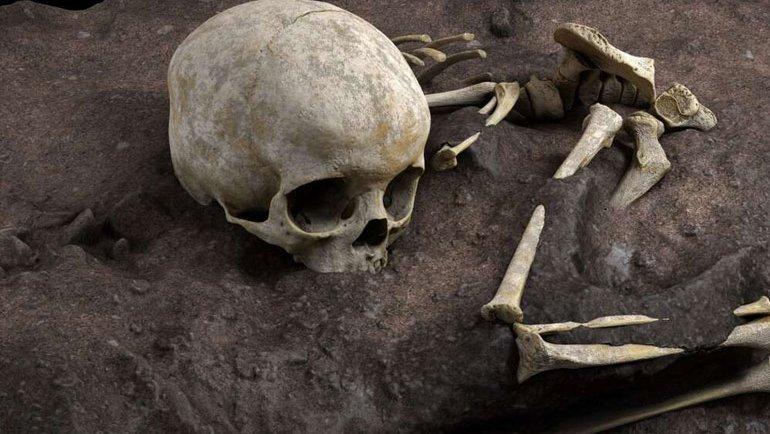 Tarihin en eski mezarı bulundu
