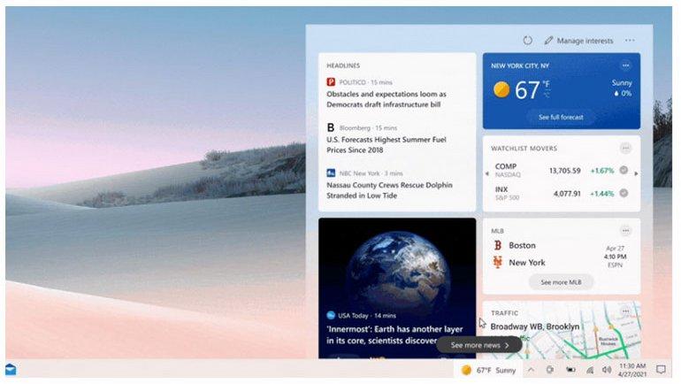 Windows 10 görev çubuğuna ince ayar