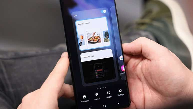 "Android 12'de yeni bir ""Discover"""