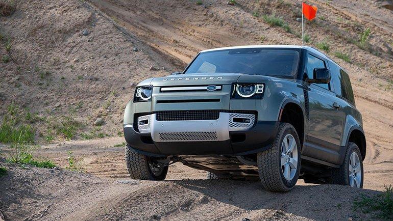 Hidrojenle çalışan Land Rover