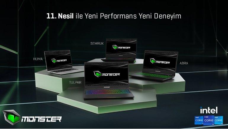 Monster'ın yeni ürünleri satışta!
