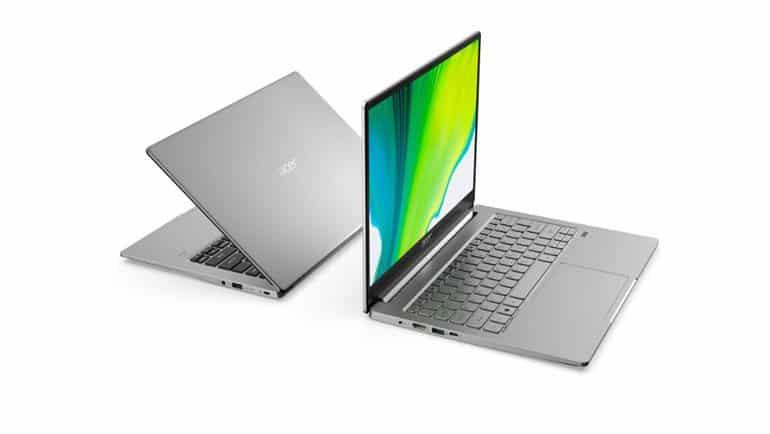 Yeni Acer Swift'lerin avantajları