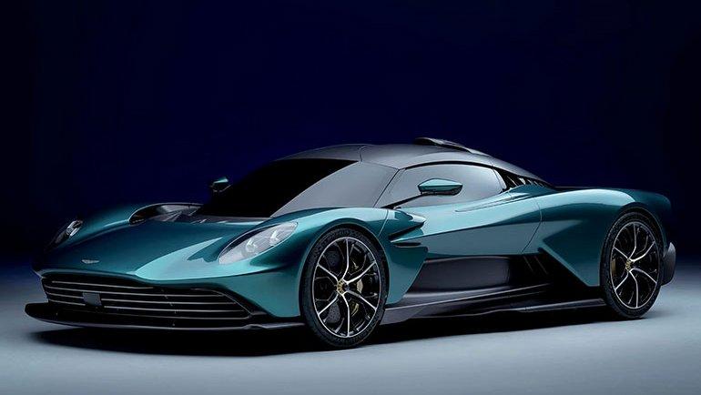 Aston Martin Valhalla büyüledi