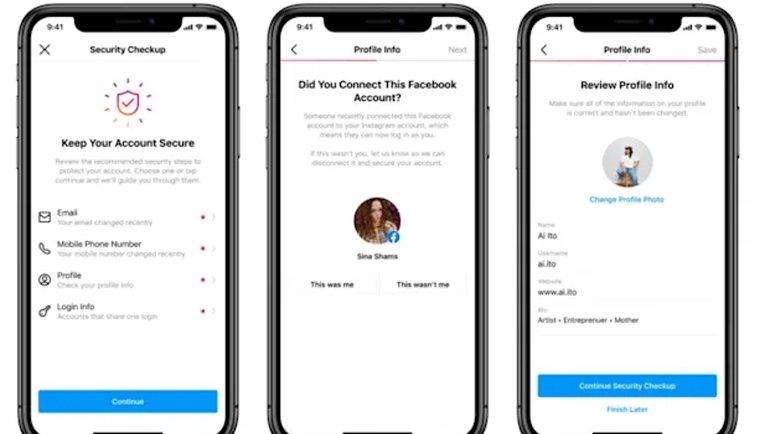 Instagram'dan yeni güvenlik aracı