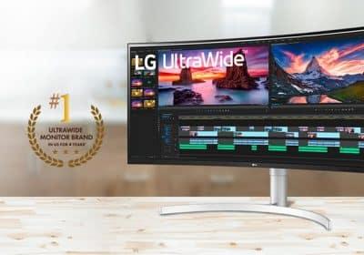 LG monitörlerle panoramik görüntü