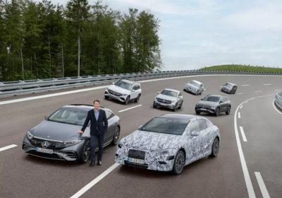 Tüm Mercedes'ler elektrikleniyor